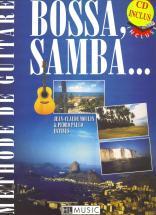 Moulin Jean-claude - Bossa, Samba... + Cd - Guitare