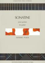 Pujol M.d. - Sonatine - Guitare