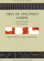 Coinel R./ Maldonado R. - Nina Macondo / Marine - 3 Guitares