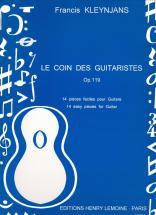 Kleynjans F. - Coin Des Guitaristes Op.119 - Guitare