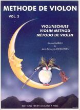 Garlej B. / Gonzales J.-f. - Méthode De Violon Vol.2