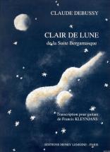Debussy Claude - Clair De Lune - Guitare