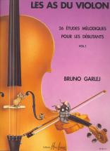 Garlej B./ Gonzales J.f. - Les As Du Violon Vol.1 - Violon, Piano