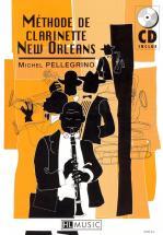 Pellegrino Michel - Methode De Clarinette New Orleans + Cd