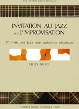 Ballet Gilles - Invitation Jazz - Improvisation - Guitare