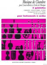 Voirpy Alain - Quintettes (3) - Quintette A Cordes