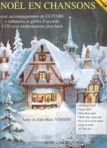 Versini Jean-marc En Chansons + Cd - Guitare