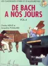 Herve C. / Pouillard J. - De Bach à Nos Jours Vol.4a - Piano