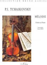 Tchaikovsky P.i. - Melodie Op.42 - Violon, Piano