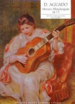 Aguado Dionisio - Menuet Affandangado Op.15 - Guitare