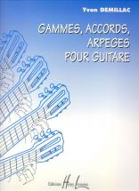 Demillac Yvon - Gammes, Accords, Arpeges - Guitare