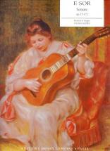 Sor Fernando - Sonate Op.15 N°2 - Guitare