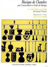 HAUTBOIS Trio à Vent: 3 instruments à vents : Livres de partitions de musique
