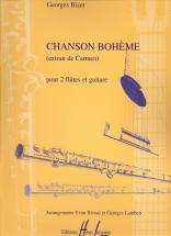 Bizet Georges - Chanson Boheme - 2 Flutes, Guitare