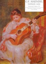 Haendel Georg-friedrich - Sarabande Variée - Guitare