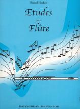 Stokes Russell - Etudes Pour Flute - Flute Solo