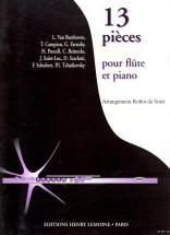 Smet Robin (de) - Pieces (13) - Flute, Piano