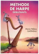 Gatineau Marie-hélène - Méthode De Harpe Vol.1