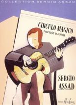 Assad Sergio - Circulo Magico - Flute, Guitare