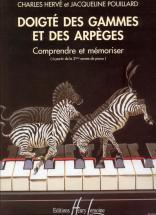 Herve C. / Pouillard J. - Doigté Des Gammes Et Arpèges - Piano