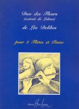 FLUTE 2 Flûtes traversières, Piano : Livres de partitions de musique