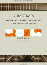 Joplin Scott - Ragtimes (3) - 2 Guitares