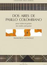 Gonzalez Francisco - Aires Pasillo Colombiano (2) - Violon, Guitare