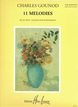 Gounod Charles - Mélodies (11) - Voix Moyenne, Piano