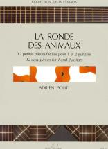 Politi Adrien - Ronde Des Animaux - 1 Ou 2 Guitares