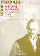 Piazzolla Astor - Histoire Du Tango - Saxophone Sib, Piano