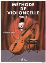 Bourin Odile - Méthode De Violoncelle Vol.2 - Violoncelle
