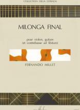 Millet Fernando - Milonga Final - Violon, Guitare