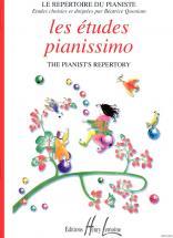 Quoniam Béatrice - Les Etudes Pianissimo - Piano
