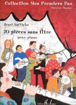 Masson T./ Nafilyan H. - Pieces Sans Titre (20) - Piano