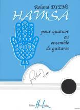 Dyens Roland - Hamsa - Ensemble Guitares