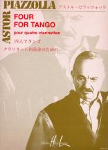 Piazzolla Astor - Four For Tango - 4 Clarinettes