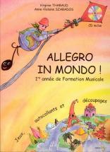 Tharaud V. / Szabados A.v. - Allegro In Mondo + Cd