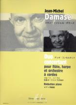 Damase Jean-michel - Duo Concertant - Flute, Harpe, Piano
