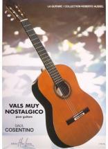 Cosentino Saul - Vals Muy Nostalgico - Guitare