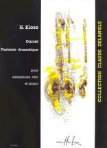 Klose H. - Daniel - Saxophone Mib, Piano