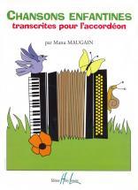 Maugain Manu - Chansons Enfantines - Accordeon