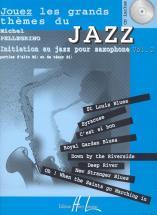 Pellegrino Michel - Jouez Les Grands Thèmes Du Jazz Vol.2 + 2 Cd - Saxophone