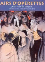 Verschaeve Michel - Airs D'op�rettes - Baryton, Piano