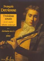 Devienne Francois - Sonate N°3 - Clarinette, Piano