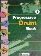 Ros Eddy - Progressive Drum Book 1 + Cd - Batterie