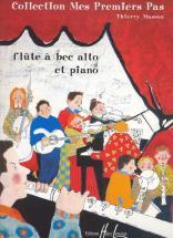 Masson Thierry - Mes Premiers Pas - Flute A Bec Alto, Piano