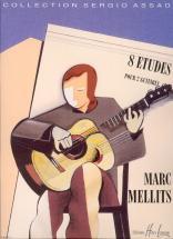 Mellits Marc - Etudes (8) - 2 Guitares