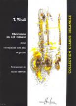 Vitali Tommaso - Chaconne En Sol Min. - Saxophone Mib, Piano