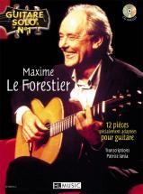 Leforestier Maxime - Guitare Solo N°1 : Maxime Le Forestier + Cd - Chant, Guitare