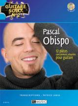 Obispo Pascal - Guitare Solo N°2 : Pascal Obispo + Cd - Chant, Guitare